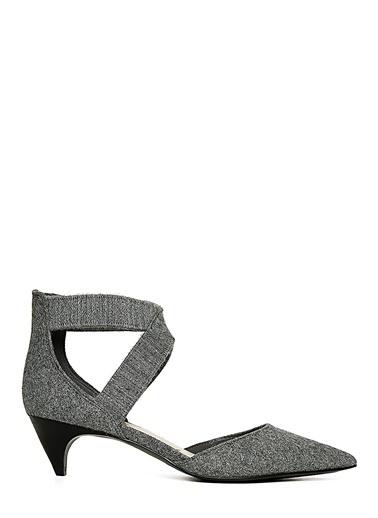 Nine West Kısa Topuklu Ayakkabı Gri